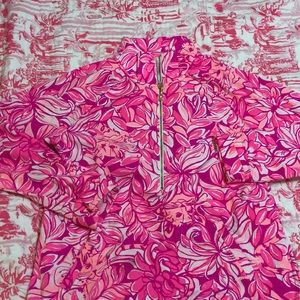 Lilly Pulitzer popover Pawsitive Cattitude